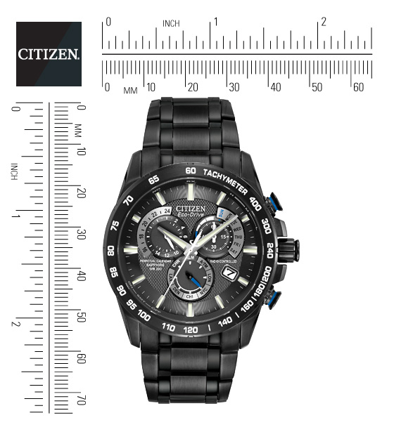 how to auromatically chnage a radio controlled citizen ecodeive watch