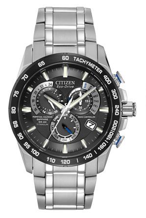 Citizen Citizen Eco-Drive  PERPETUAL CHRONO A-T AT4010-50E Atomic Timekeeping