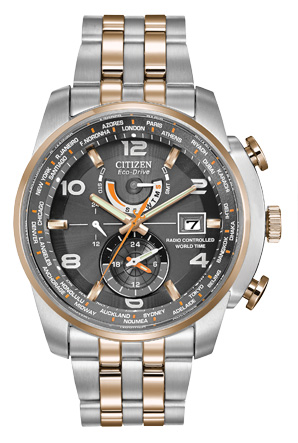 Citizen Citizen Eco-Drive  World Time A-T AT9016-56H World Time A-T